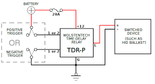 tdrx automotive time delay relay Solid State Time Delay Relay Wiring Diagram Time Delay Relay 12V DC