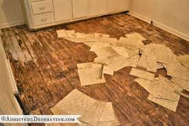 removing lino from wooden floors nz