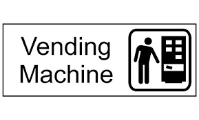 Vending Machine Sign Simple Amazon ComplianceSigns Engraved Plastic Vending Machine Sign 48