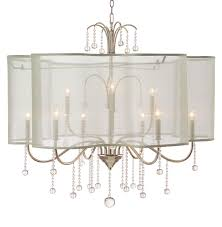 john richard denise hollywood regency champagne silver crystal 9 light chandelier kathy kuo home