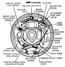 Diagram of drum brakes do you have a drawing for a 92 ford ranger drum brakes