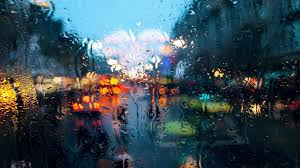 Rain Glass Window city behind the rainy window walldevil 6801 by xevi.us