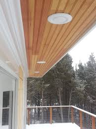 under soffit lighting. LED Exterior Soffit Lighting Should Be Installed Wherever You Need Outside Lights. They Are Sheltered From The Harsh New England Weather And Will Far Under U