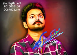 vijay 63 digital art full hd png free
