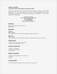 how to make a resume teenager resume for teenager with no work experience samples business document