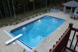 rectangle inground pools with hot tubs. Perfect Tubs To Rectangle Inground Pools With Hot Tubs T