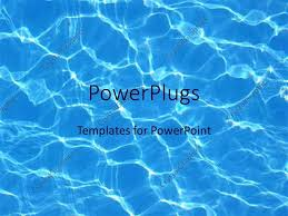 Summer Powerpoint Templates Powerpoint Template Blue Water Reflections In Pool Summer