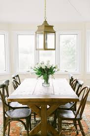 traditional breakfast room dining area