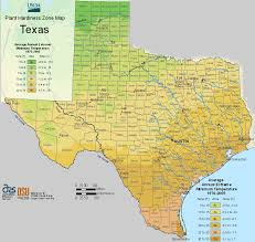 Us Growing Zone Chart Usda Texas Planting Zones Map For Plant Hardiness