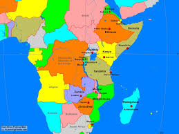africa east africa political map  a learning family