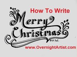 Pictures Of Merry Christmas Design Write Merry Christmas Fancy Letters Speed Tutorial Youtube