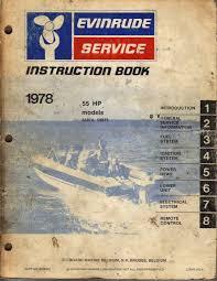 practical car manuals  evinrude service manual 1978 55 hp outboard motor