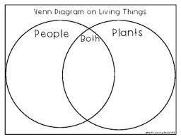 Venn Diagram Living And Nonliving Things Living Non Living Things Pamphlet On Plants Have Need Give Venn Diagram