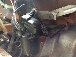mustang two speed windshield wiper motor (1967 1973) installation windshield wiper motor 2 speeds wiring at 68 Chevy C10 Wiper Motor Wiring