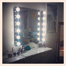 Vanity Mirror Lights Home Depot My Diy Hollywood Vanity For Only 160 At Home Depot 1