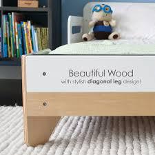 modern toddler bed white  pkffmtbwh