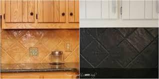 Can You Paint Tile Backsplash Signedbyange Classy How To Install Backsplash Tile Sheets Painting