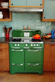 vintage looking stove refrigerators style appliances refrigerator kitchen
