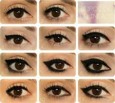 same eye the style of the eyeliner really makes a difference to the look of your eyes