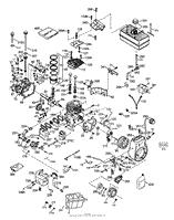 Tecumseh LH318SA-156552G Parts Diagrams
