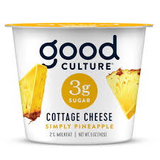 You can enjoy it with smoked salmon or as a light snack but don't have it too often. Good Culture 3g Sugar Pineapple Cottage Cheese Shop Cottage Cheese At H E B