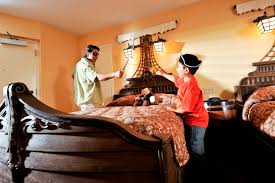 pirate themed guest room at disney s caribbean beach resort