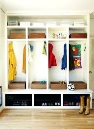cubby shelf with hooks mudroom entry contemporary with boots built in storage coat hooks holes diy cubby shelf with hooks