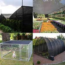 how to use shade net in greenhouse