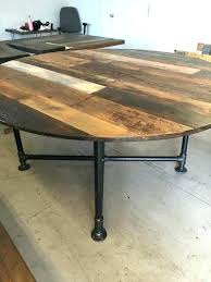 rustic round dining table round reclaimed wood dining table best rustic round dining table ideas on