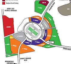 fedex field map