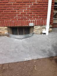 brick basement window wells. Unique Basement Window Well Installation To Brick Basement Wells