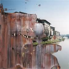 gerhard richter discovered the technique of painting on photographs by chance whilst using photographs and