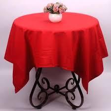 small table cloth red tablecloth cotton linen cover decorative square round garden smal home design small round table cover