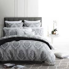marcella silver quilt cover set by logan and mason ultima collection