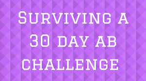Surviving A 30 Day Ab Challenge Week 1 The Seahawk