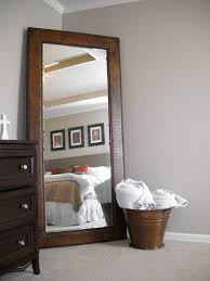 Awesome Full Length Mirror In Bedroom Ideas And Plans With Lights Mirrors  Pictures Best Beige