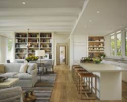 Open Plan House Designs Home Design Ideas  Pictures  Remodel and DecorInspiration for a mid sized transitional open concept living room remodel in Other   light