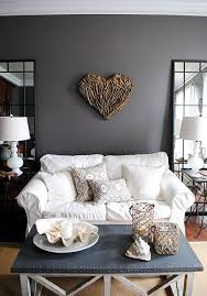 country living room ci allure: white furniture really stands out against dark walls graphicsfairycountry living