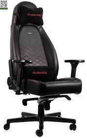 <b>Игровое кресло Noblechairs Icon</b> (Черный / красный) купить за ...