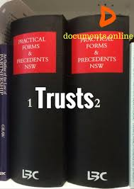 trusts online samples documents online trusts online trust samples
