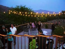image of backyard lighting ideas with string lights