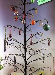 Wrought Iron Ornament Display Stand Simple Wrought Iron Ornament Tree