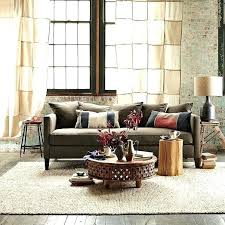 mini pebble wool jute rug natural ivory west elm bleached
