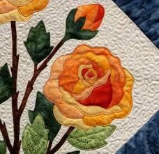 Best 25+ Applique quilt patterns ideas on Pinterest   Applique ... & Applique Flower Pattern Quilt Rose   Over 5,000 Free Patterns Adamdwight.com