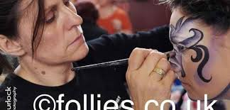 face painting classes in london follies