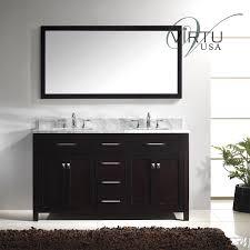 66 double sink bathroom vanity. virtu usa md-2060-wmsq caroline 60\ 66 double sink bathroom vanity