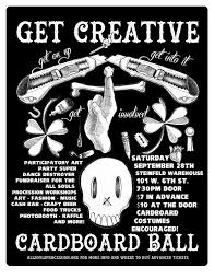 Flyer Black And White Cardboard Ball Black White Flyer Download And Print It Out Help