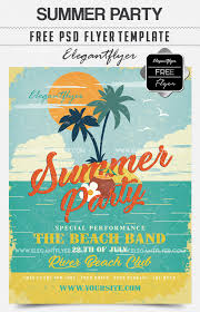 Flyer Design Free 30 Premium Free Psd Summer Party Flyer Templates For Awesome