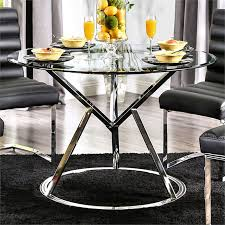 furniture of america vova 45 dining table only