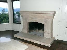 refinished brick fireplaces